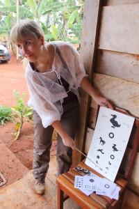Agnieszka Lembowicz, Okuliści dla Afryki