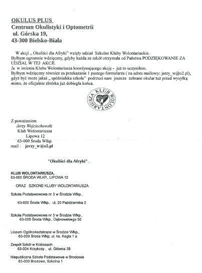 Klub Wolontariusza Środa Wielkopolska